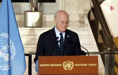 В Женеве начинается новый раунд межсирийских переговоров