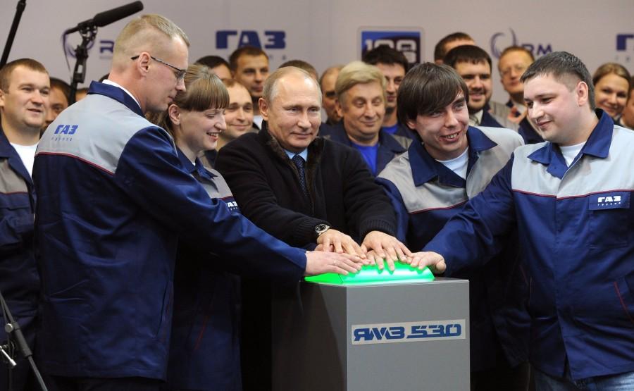 Заводы, которые закрыл Путин…