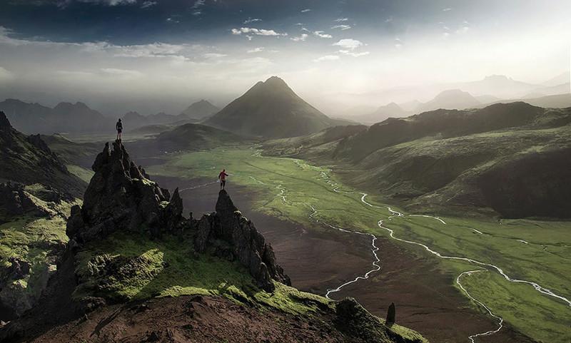4. Ландманналаугар виды, исландия, красота, фото