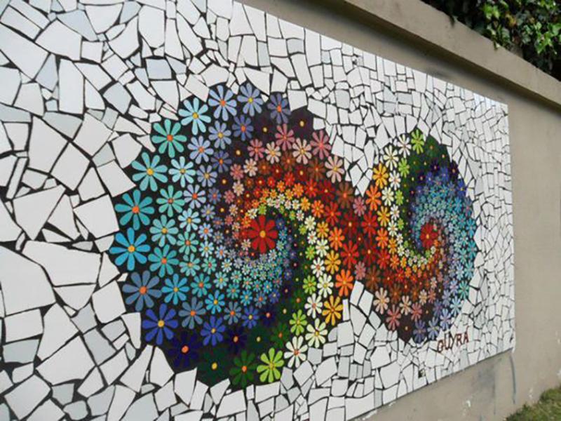 Из чего и как сделать мозаику в домашних условиях