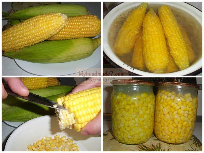 Как сделать в домашних условиях консервированную кукурузу