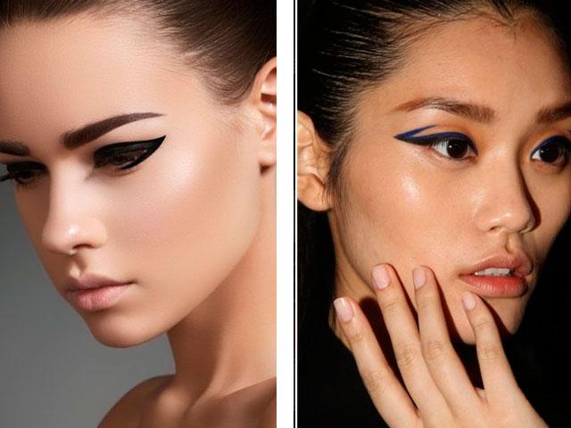 Аккуратный макияж со стрелками