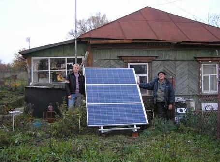 Солнечные батареи плотно вошли в жизнь сельских жителей деревенская романтика, деревня, село, смешно, технологии, фото