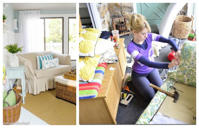 «Большая перебивка»: как легко поменять обивку дивана за копейки