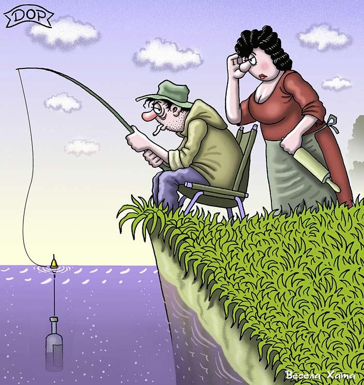 анекдоты про неудачную рыбалку
