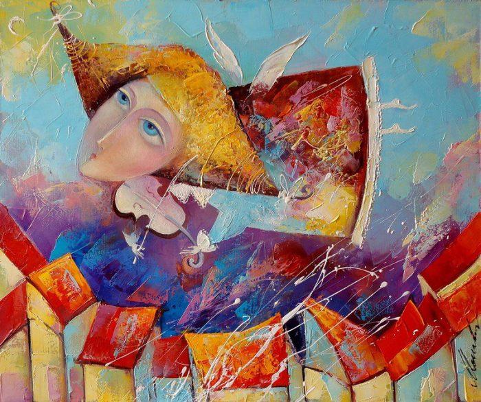 художник Лиана Моисеева картины - 03