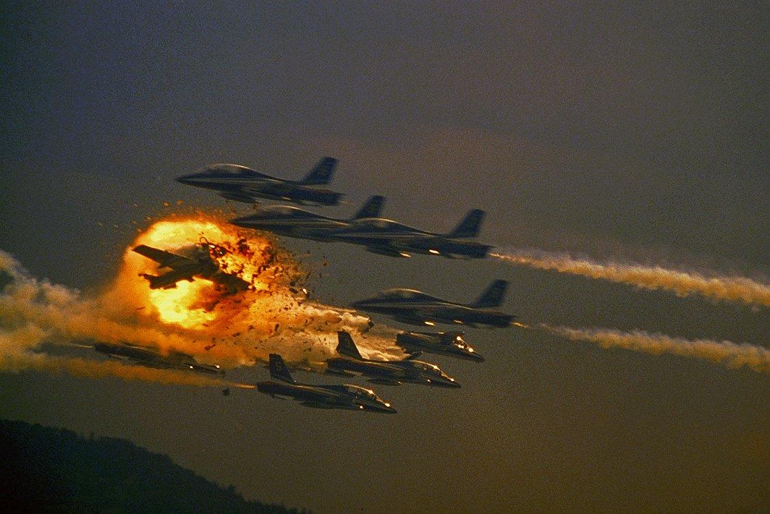 Катастрофа на авиашоу, которая потрясла весь мир