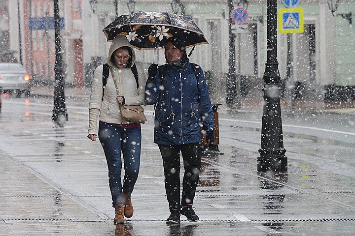 Москву накрывает очередной холодный циклон