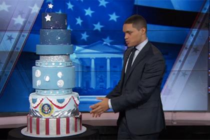Трампа уличили в подделке торта на инаугурации