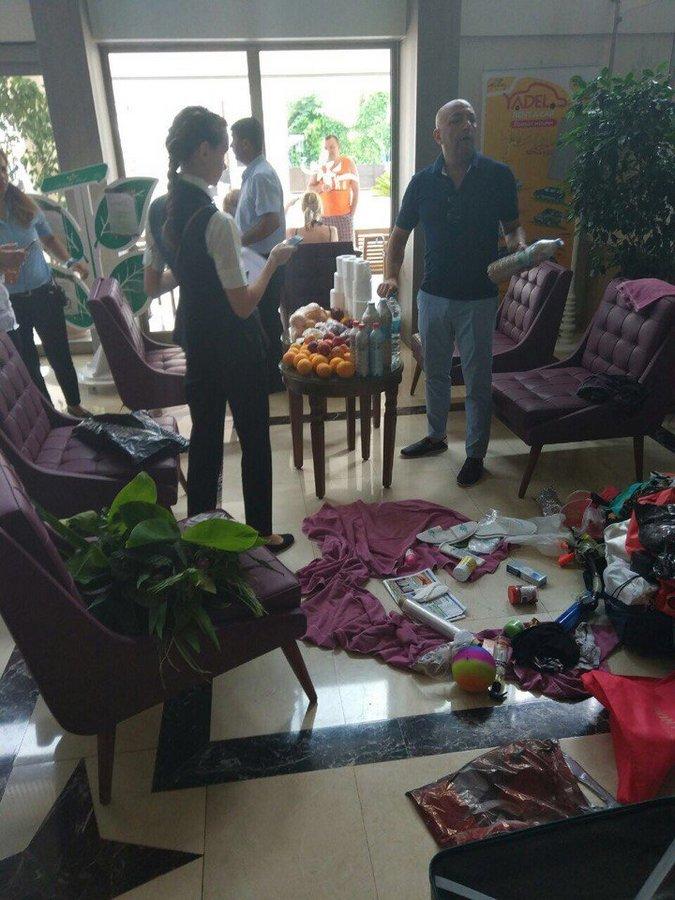 Туристы из Сургута… Нет слов… Позорище