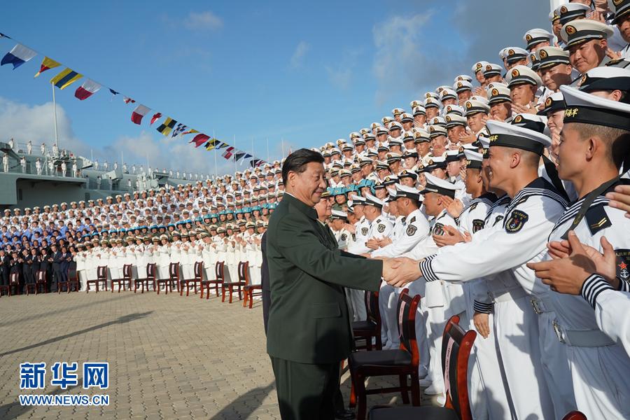 Второй китайский авианосец введен в строй
