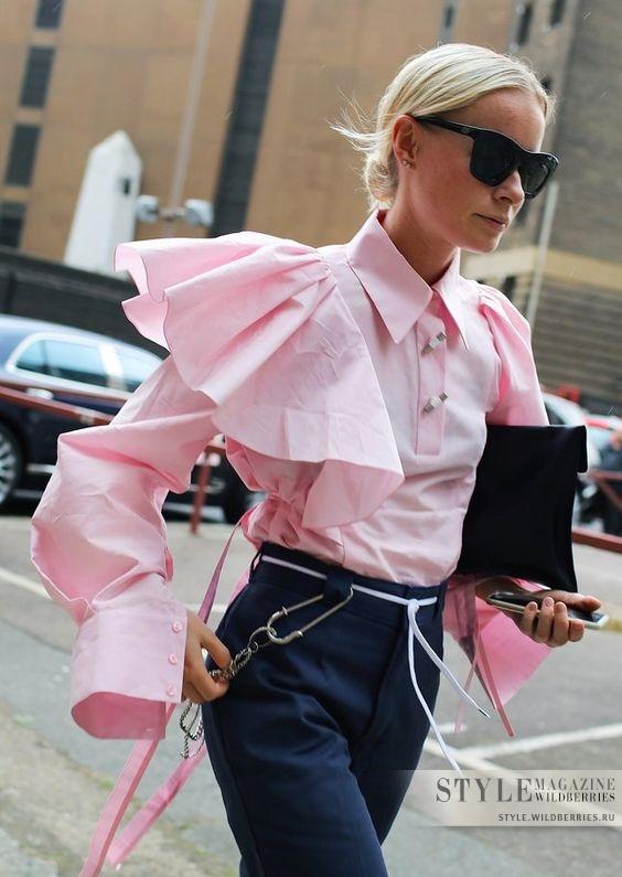 Как носить вещи с рюшами каждый день