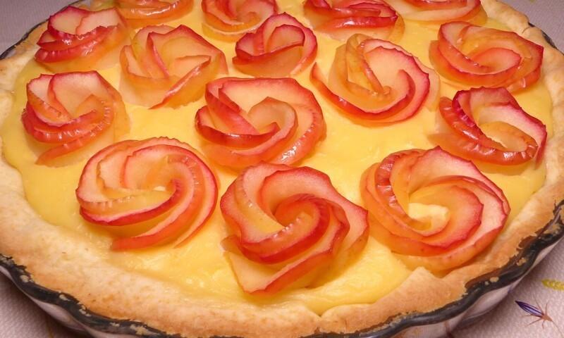 Яблочный пирог Розы