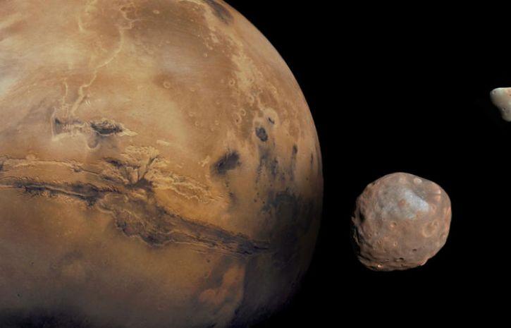 Гигантский астероид может уничтожить Марс