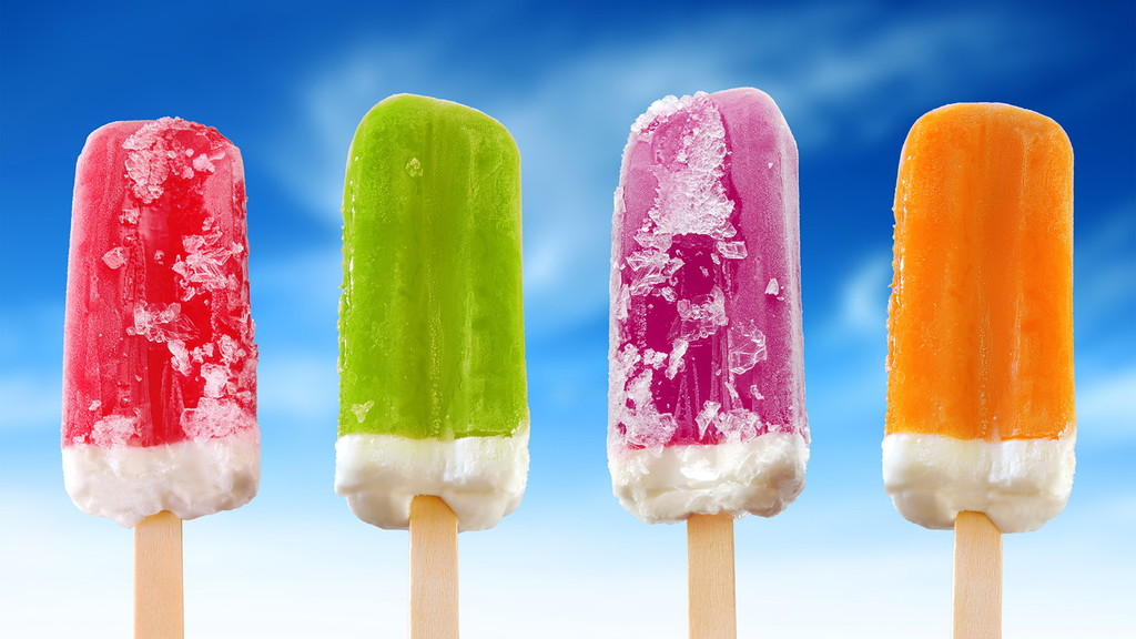 Производство мороженого на видео