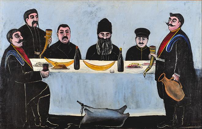 Грузинский авангард в шести картинах и двух эскизах
