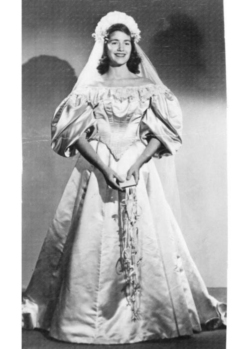 Невеста № 3: Вирджиния Вудрафф, которая вышла замуж за Дугласа Макконнелла в 1948 году