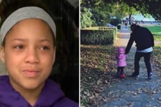 12-летняя девочка почувствовала неладное, увидев, как ужасающий сосед ведёт за ручку маленького ребенка