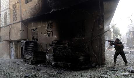 Что стоит за бомбардировкой сирийского центра?