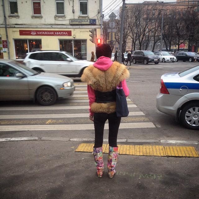 Женская мода, как не надо одеваться зимой