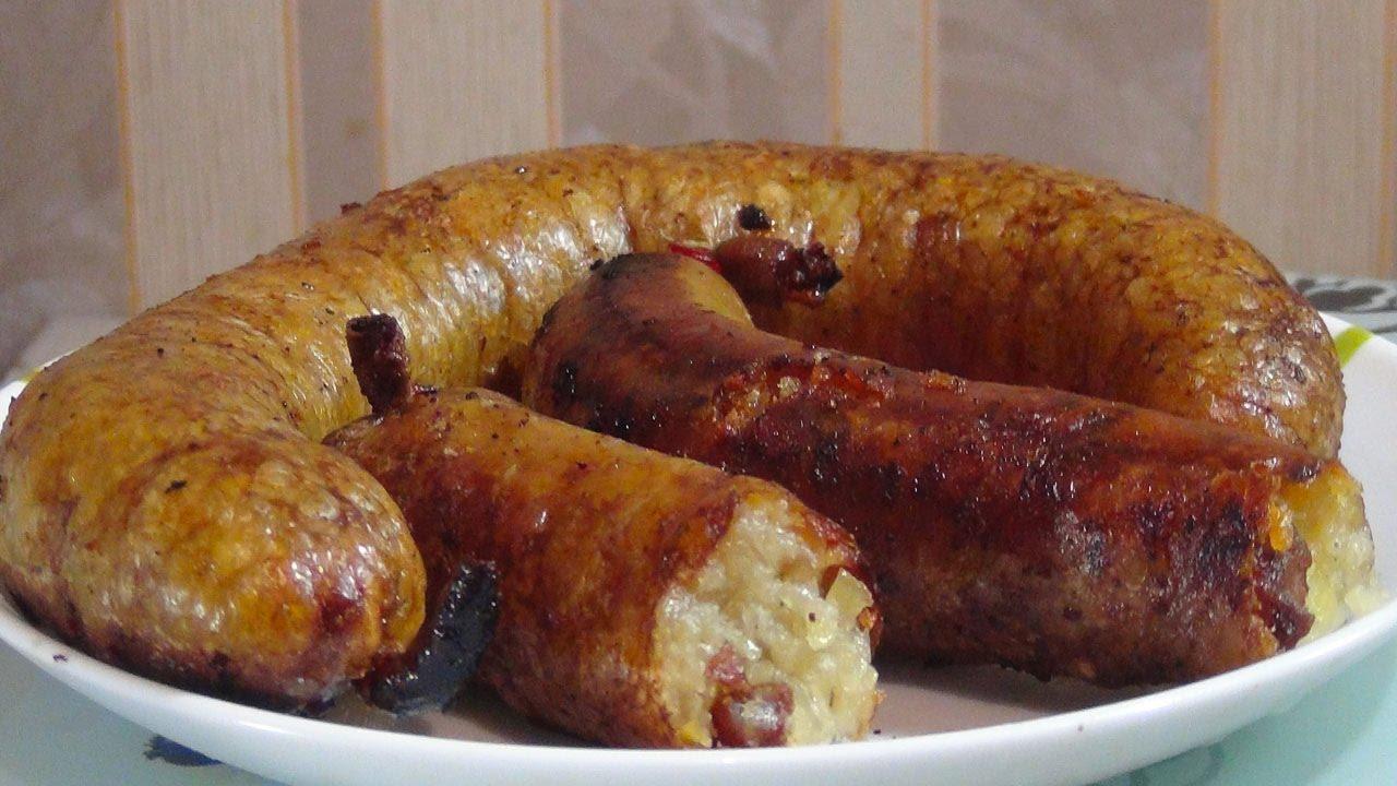 Картофельная колбаса- это безумно вкусно