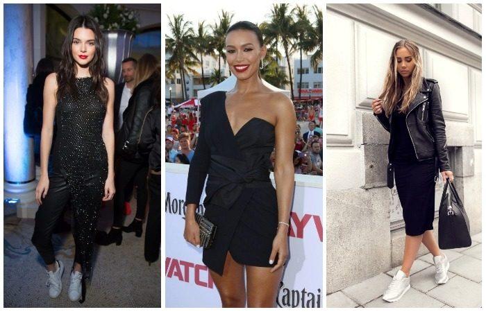 Как и с чем носить маленькое чёрное платье