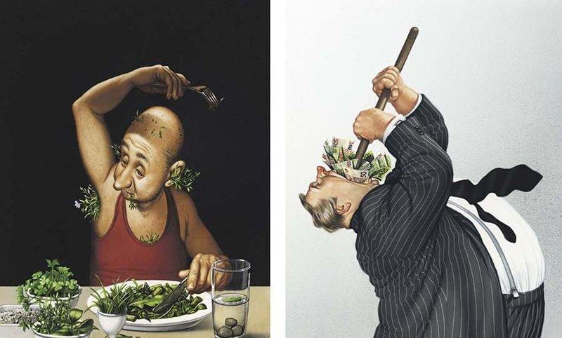 Художник иллюстрирует неудобные истины о нашем обществе, которые заставят вас задуматься