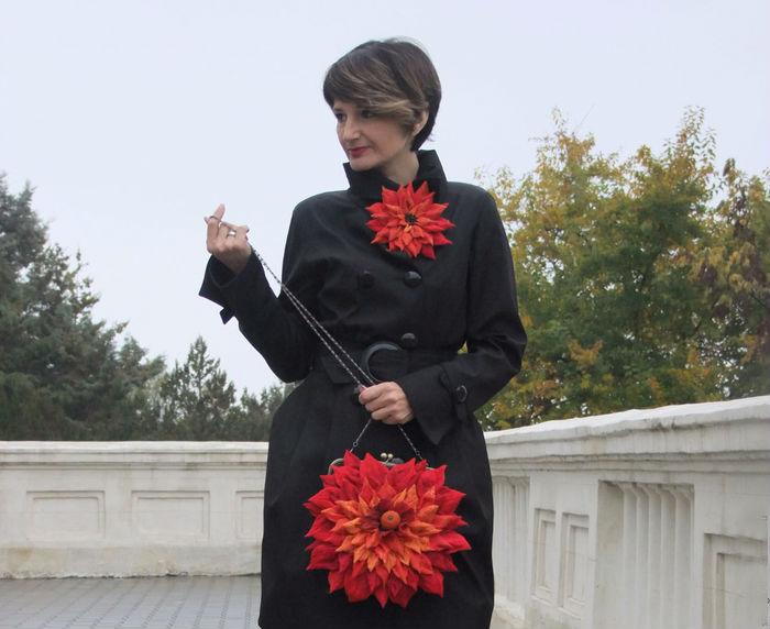 20 великолепных цветочных сумок ручной работы от мастера Ольги Гуляевой