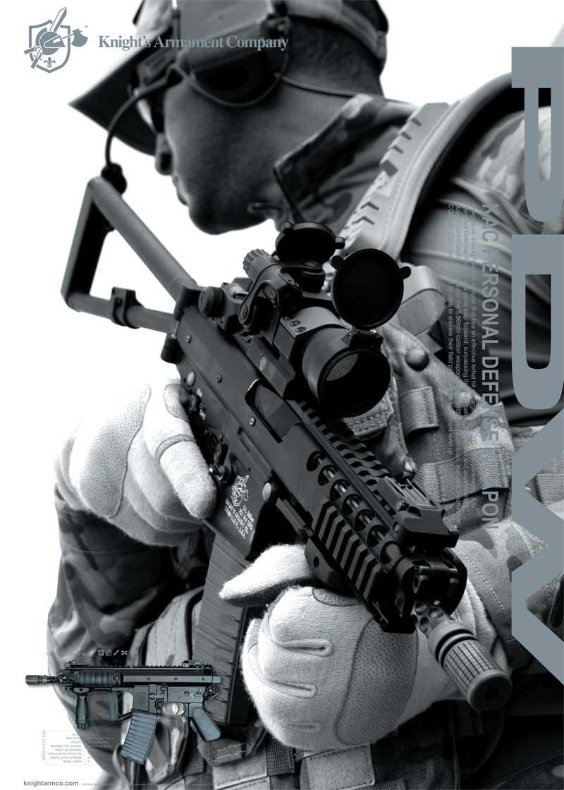 «Персональное оружие самообороны» Knight's Armament Co. PDW