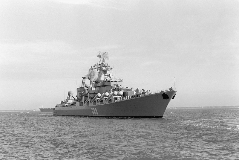 Семь лучших ракетных крейсеров Холодной войны