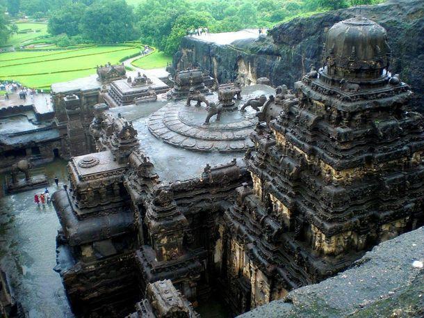 Таинственный храм Кайлаш
