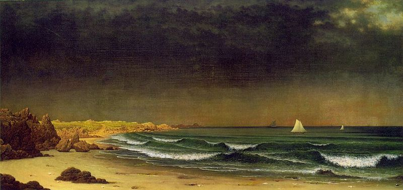 File:Martin Johnson Heade Approaching Storm Beach Near Newport ATC.jpg