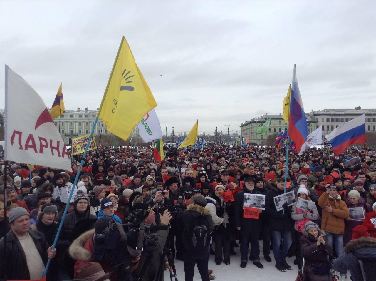 Марш памяти Немцова. Очередной повод собраться