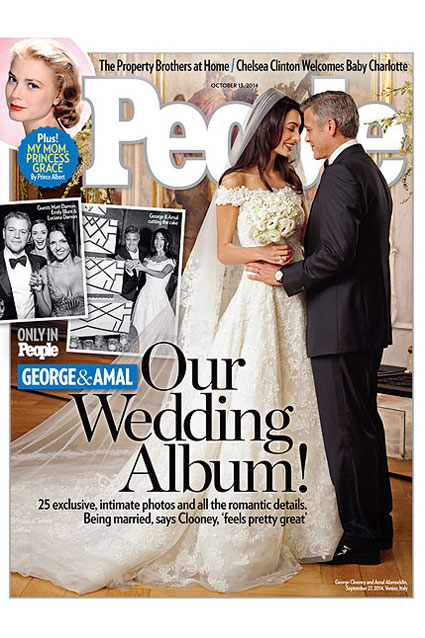 Amal Alamuddin Quit Smoking for George Clooney and 11 More Revelations About Their Wedding