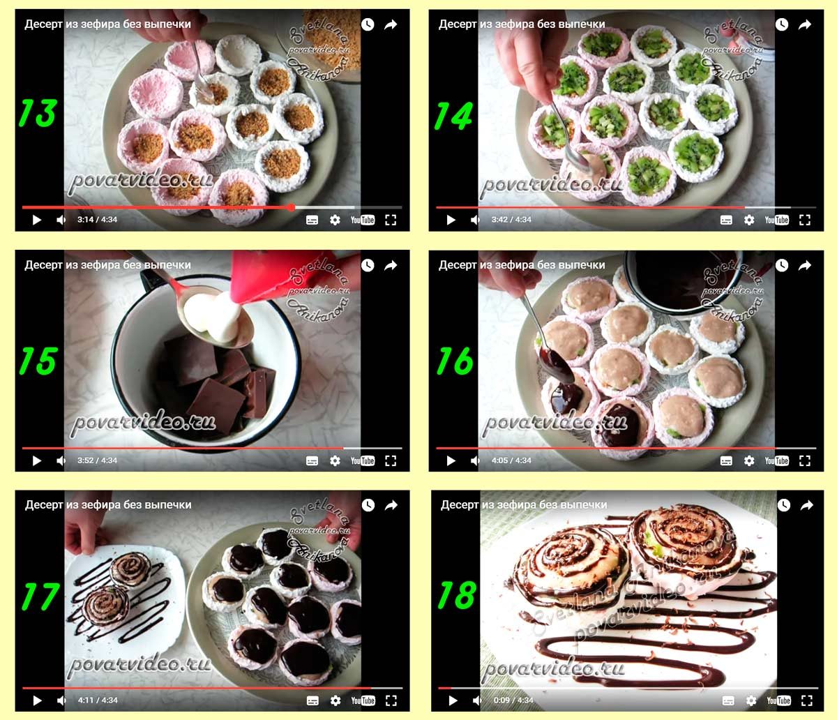 Рецепты с фото пошагово в домашних условиях сладости