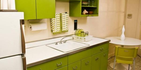 зеленые кухни-10