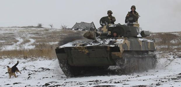 ВСУ и националисты обстреляли друг друга из минометов в Донбассе