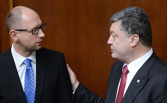 Новый план для Украины: какие реформы задумали Порошенко и Яценюк
