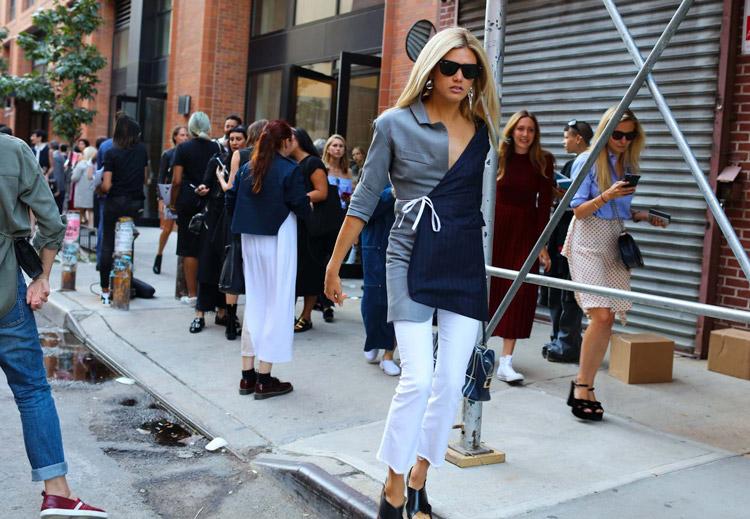 Уличная мода Нью-Йорка весна/лето 2017. 7 ключевых трендов, фото