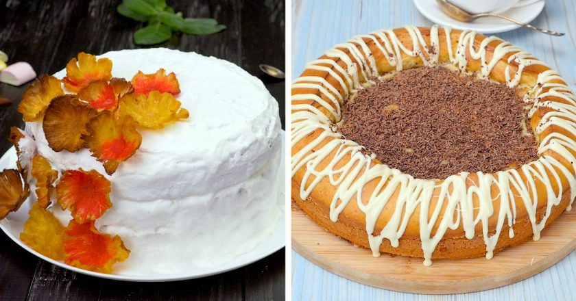 Как приготовить необычные торты