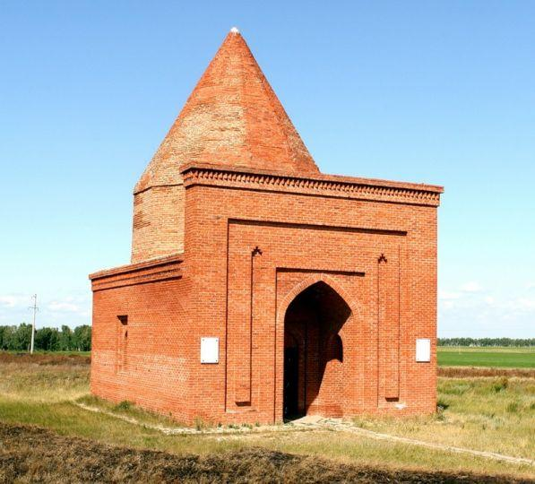 Мавзолей кесене или башня тамерлана в челябинской области