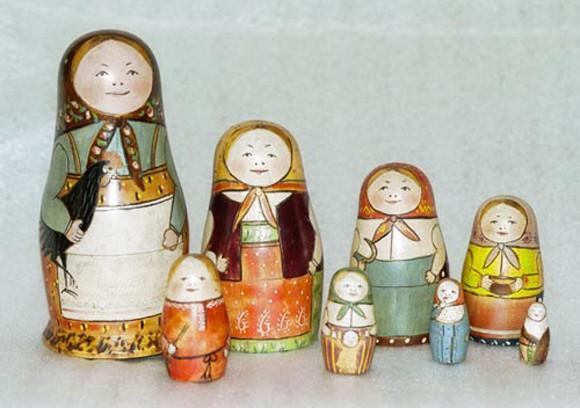 История русской национальной игрушки