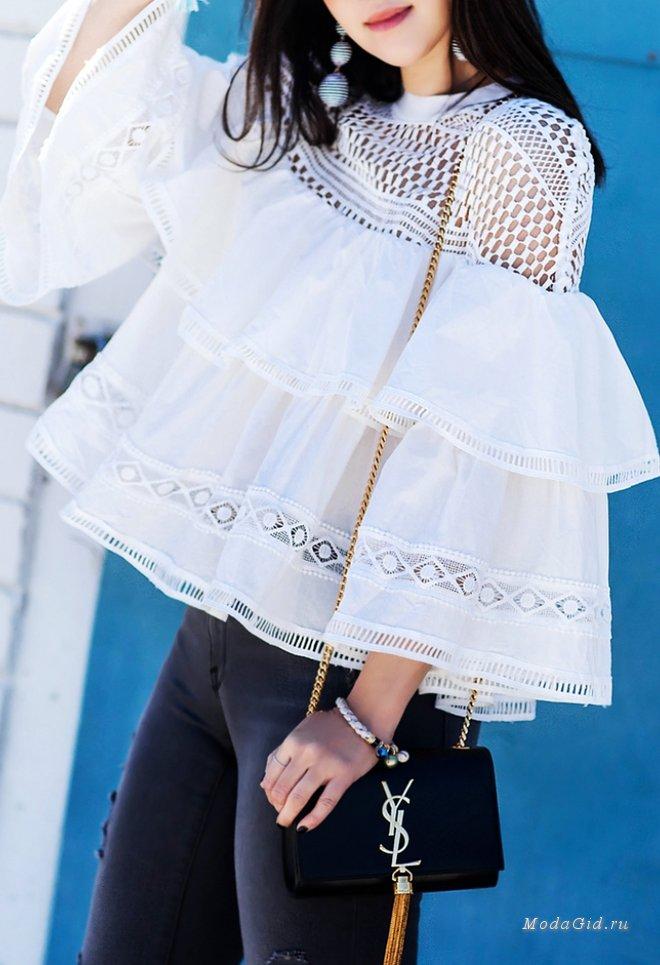 Модные тренд – акцентные рукава