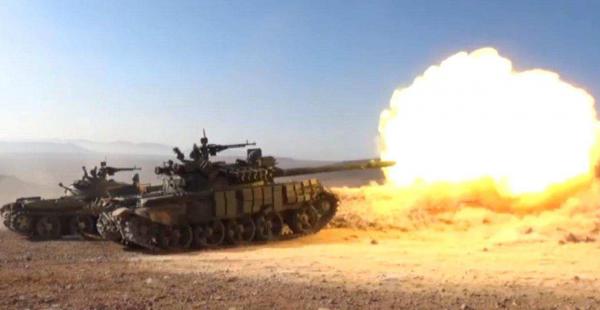 Армия Сирии и ВКС России штурмуют остров Кати в Дейр эз-Зоре