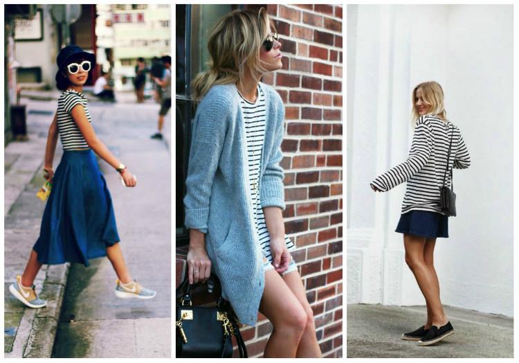 Стиль Casual для женщин, фото. Платья и юбки
