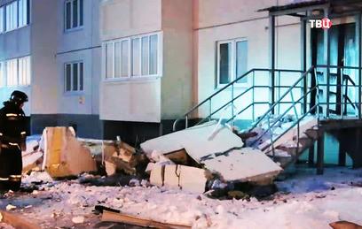 В Омск прибыл борт МЧС с оборудованием для диагностики здания после взрыва