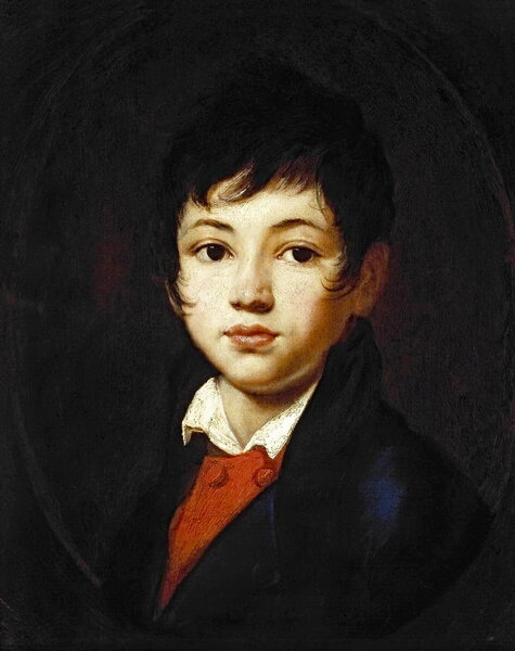 Портрет Александра Александровича Челищева. Орест Адамович Кипренский