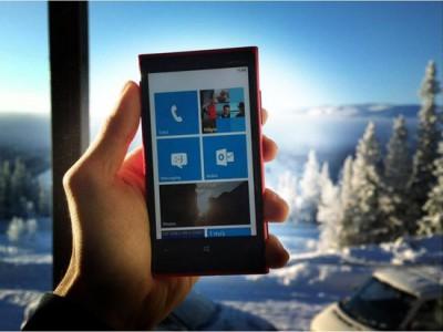 Как использовать Windows Phone в зимних условиях