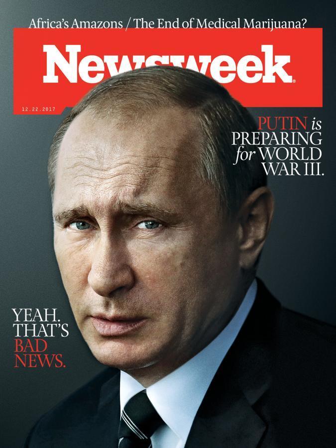 Без лишних слов: Обложка журнала Newsweek