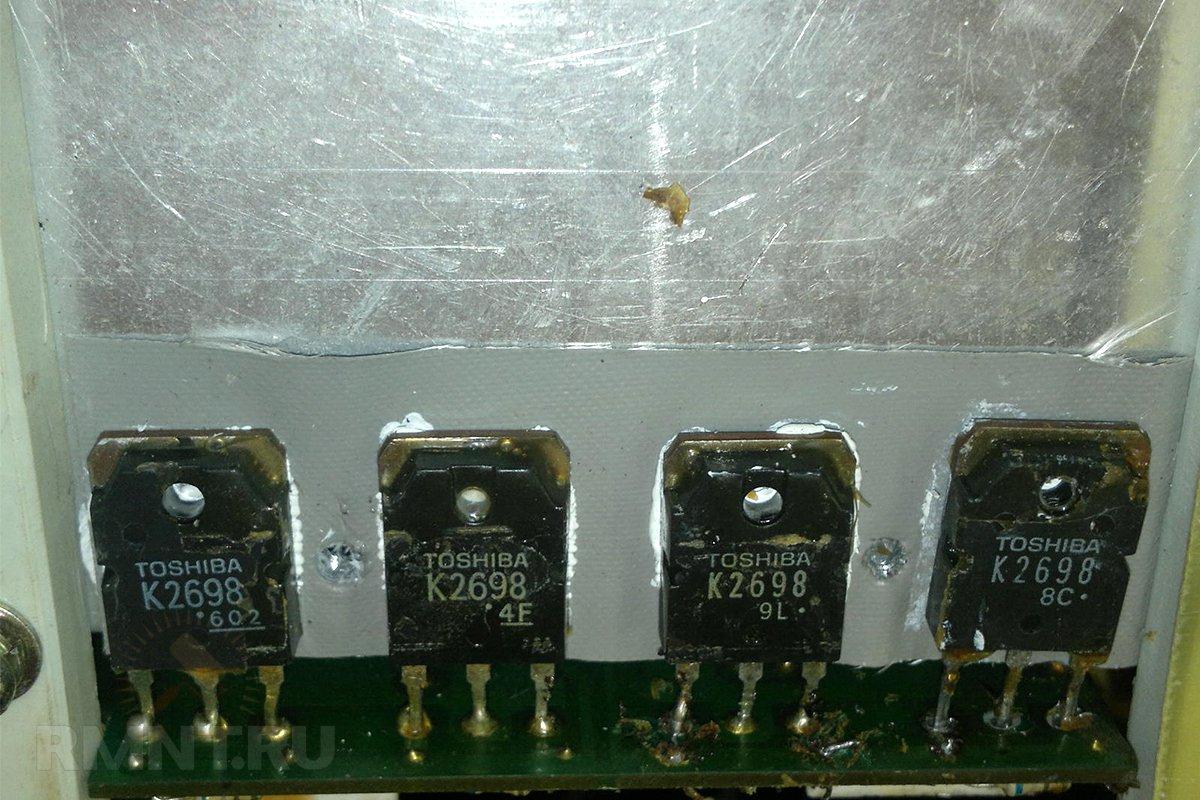 Улучшение теплоотвода сварочного инвертора